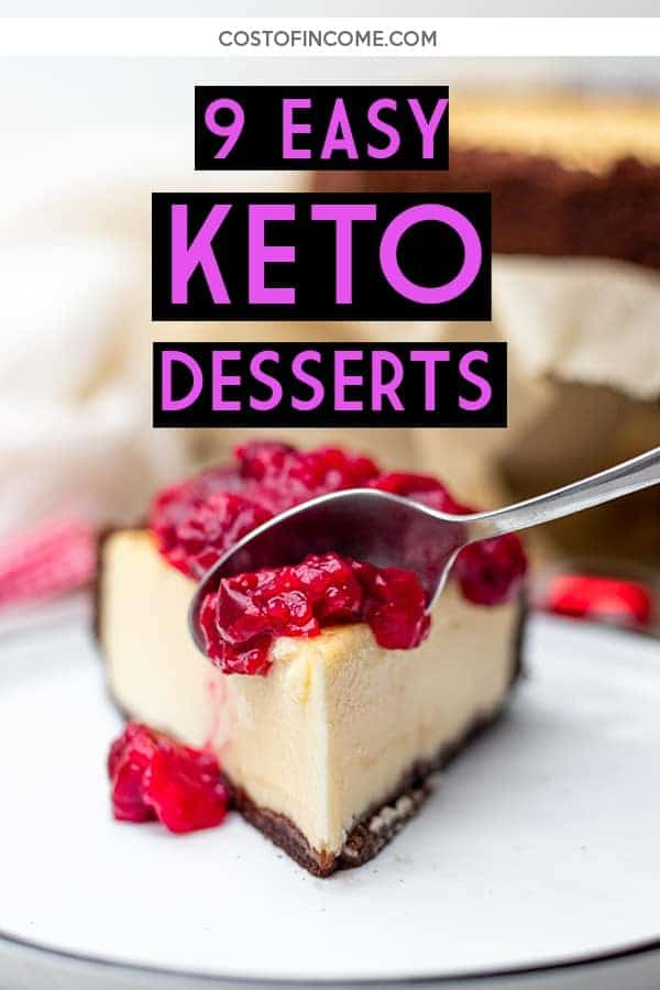 9 Easy Keto Desserts Recipes Simple And Guilt Free Cost Of Income