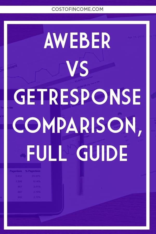 aweber vs getresponse comparison full guide