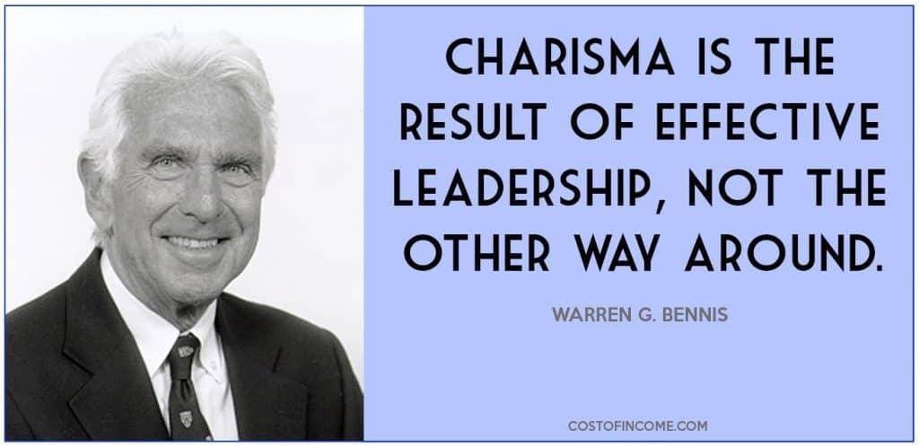 leadership qualities charisma