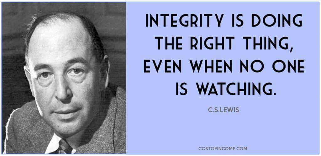 leadership qualities integrity