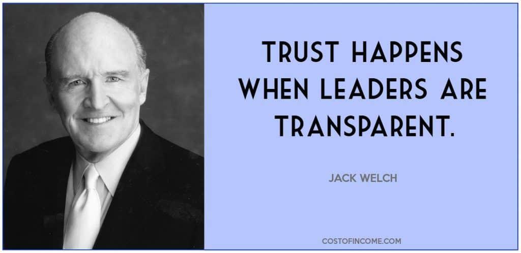 leadership qualities trust