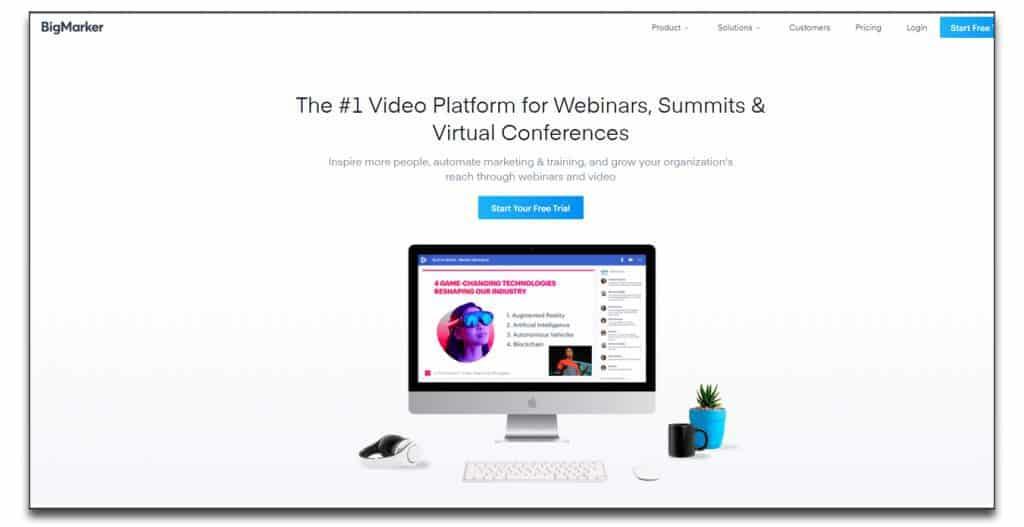 bigmarker webinar paltform