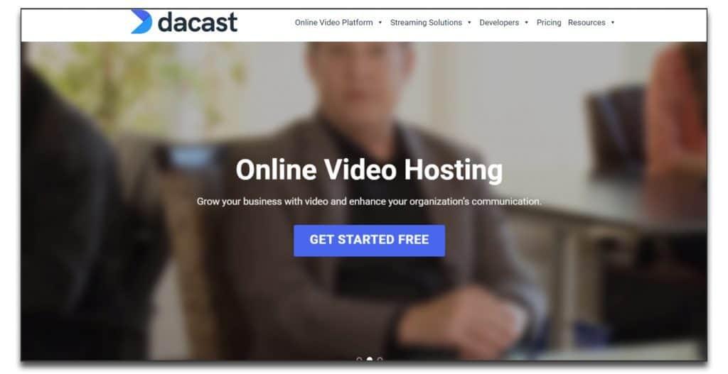 dacast webinar software platform