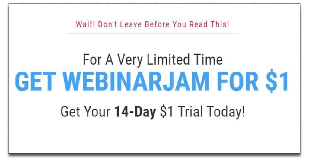 webinarjam trial pricing