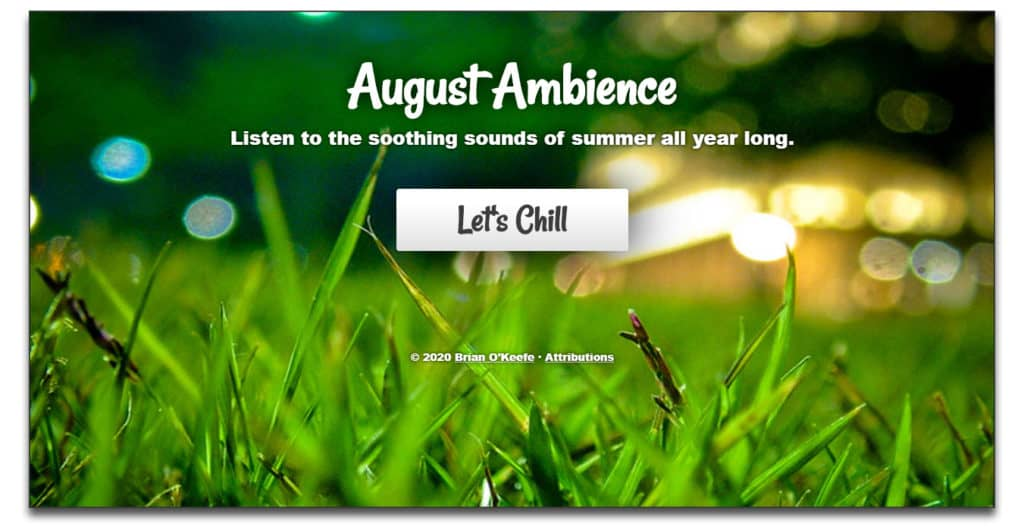 august ambience review