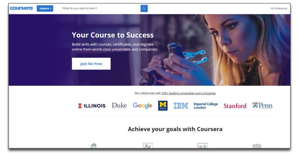 coursera online learning platform review