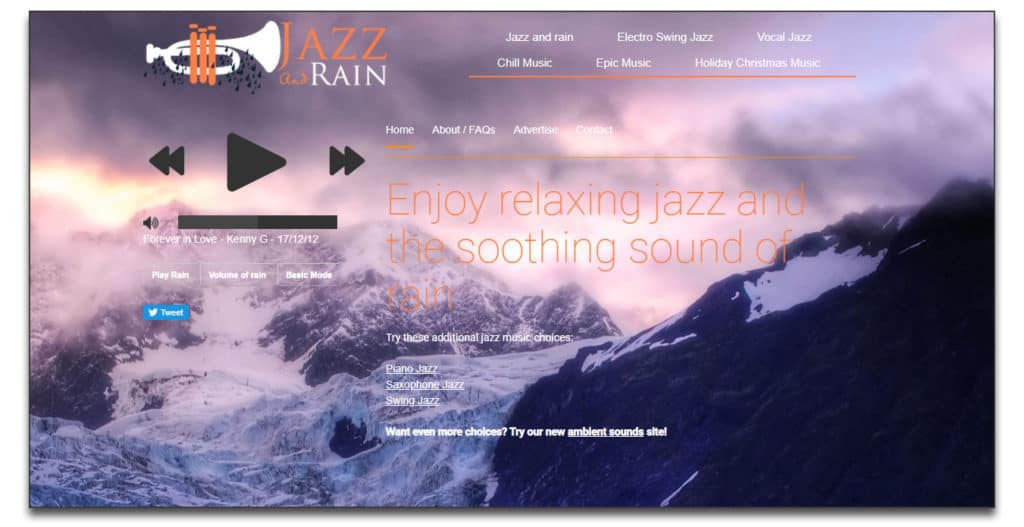 jazz and rain review