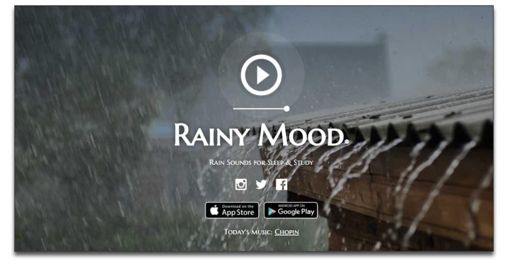 rainy mood review