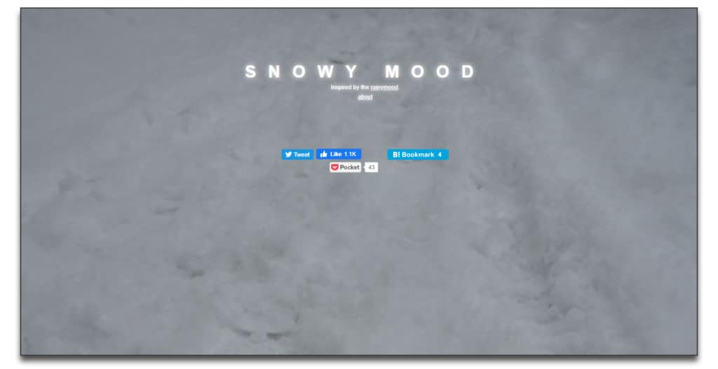 snowy mood review