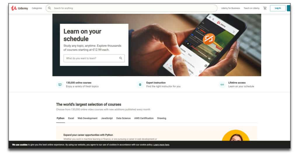 udemy online course platform review