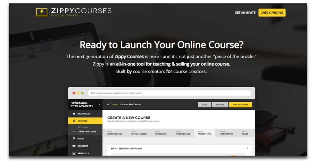 zippycourse online course platform review