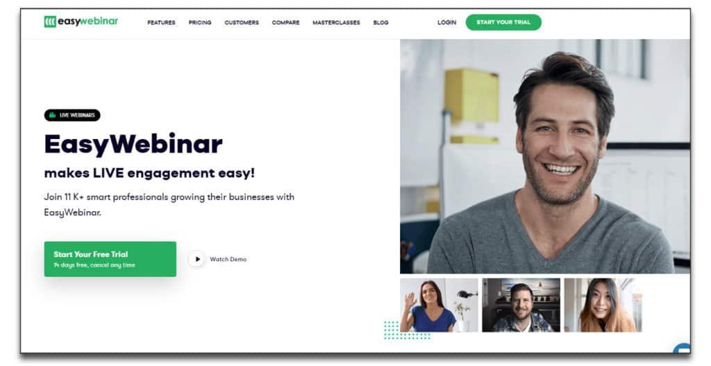 easywebinar review pricing main