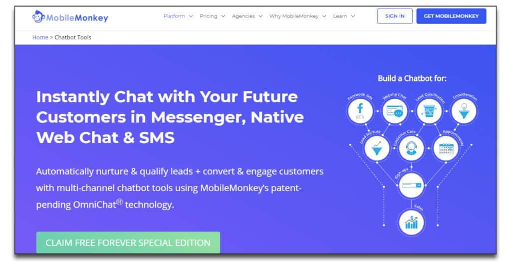 mobilemonkey chatbot review