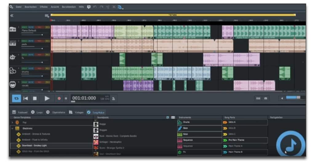 Magix Music Maker review best beat making software