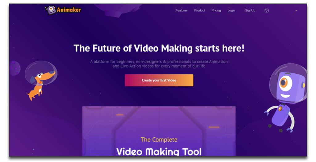 animaker review pricing whiteboard automation software