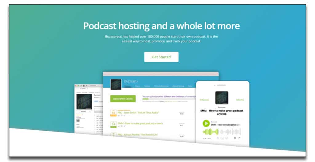 buzzsprout podcast hosting review