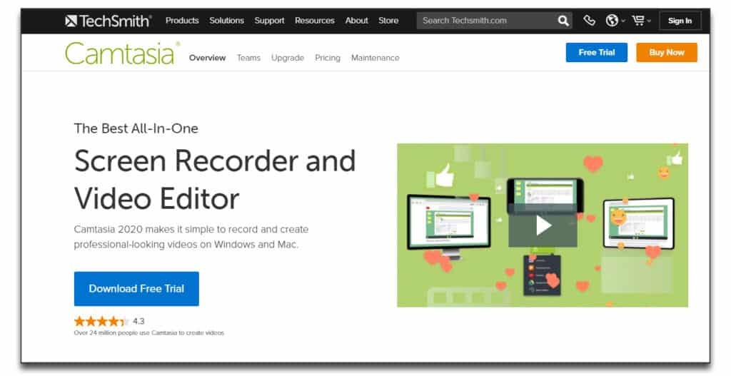 camtasia review pricing