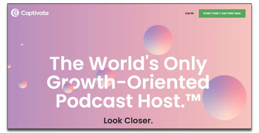 captivate review podcast hosting
