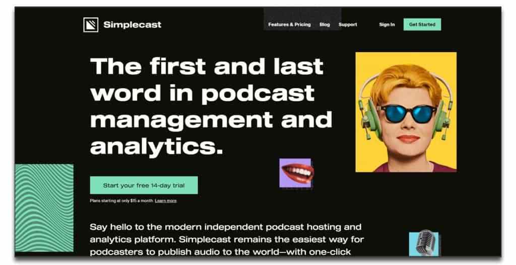 simplecast podcast hosting review