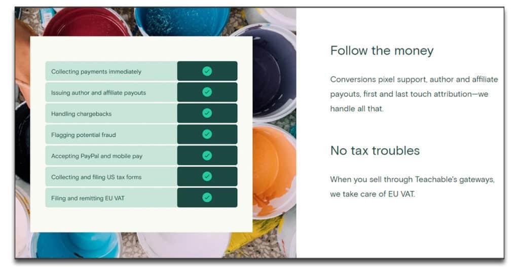 teachable vs thinkific monetization options