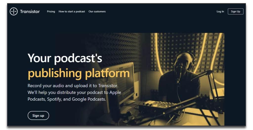 transistor podcast platform review