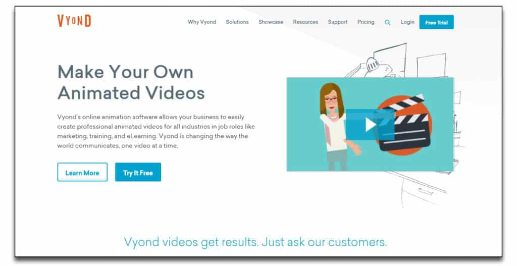 vyond review pricing whiteboard automation software