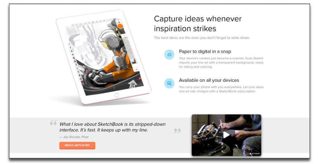 autodesk sketchbook review best drawing software