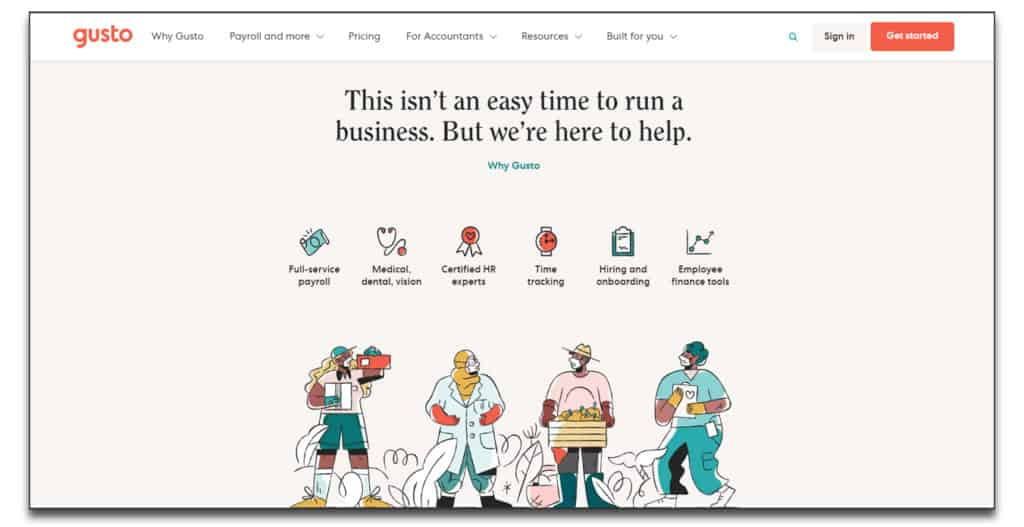 gusto hr review onboarding software
