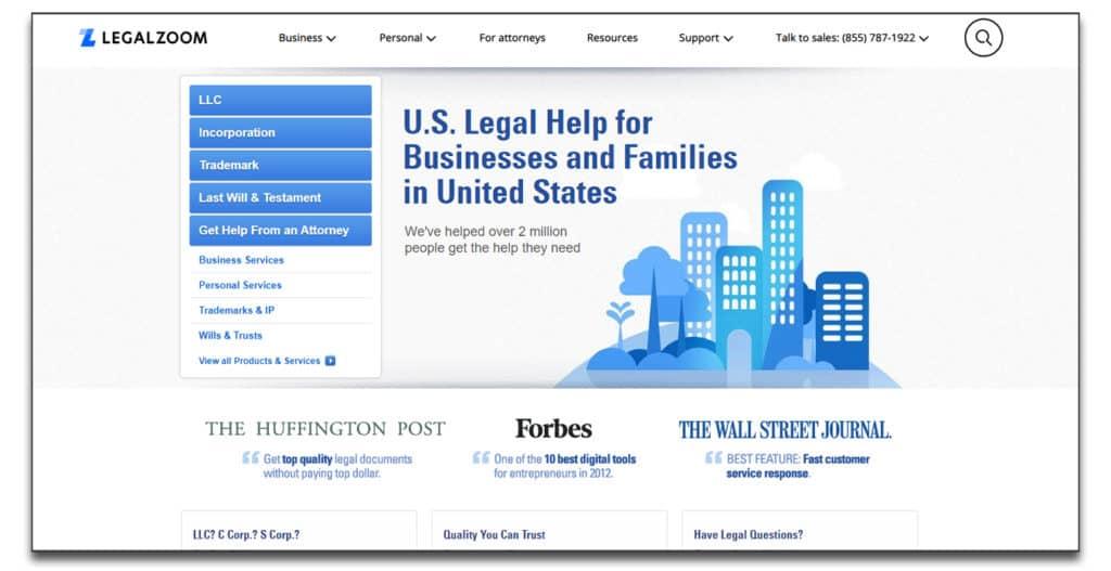 legalzoom review best online legal services