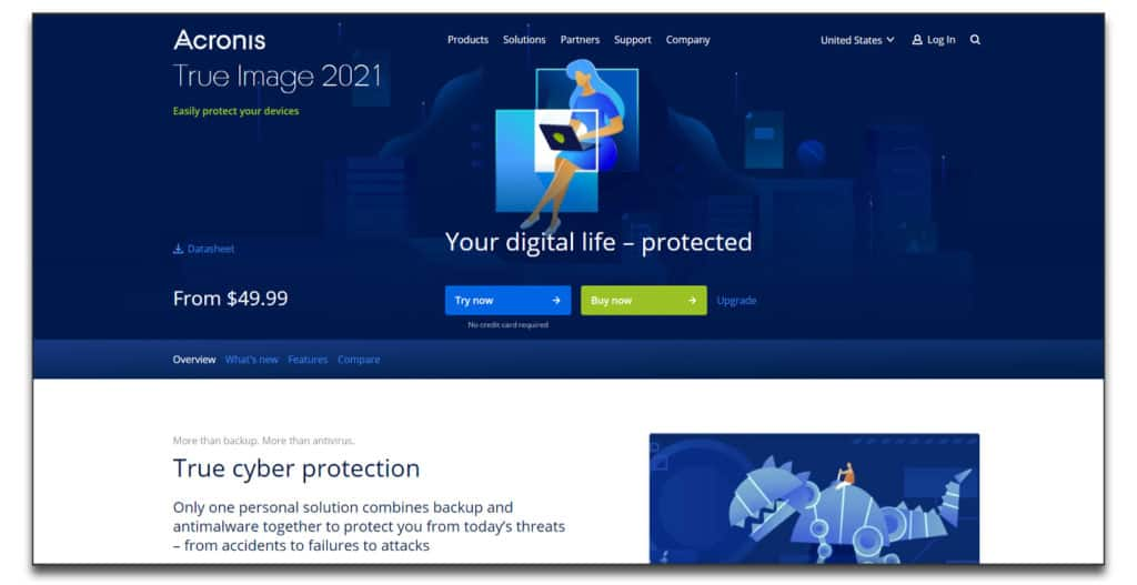 acronis true image data migration software