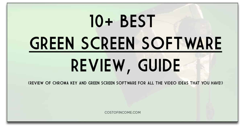 green screen software costofincome