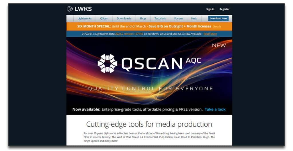 lightworks review Best Green Screen Software
