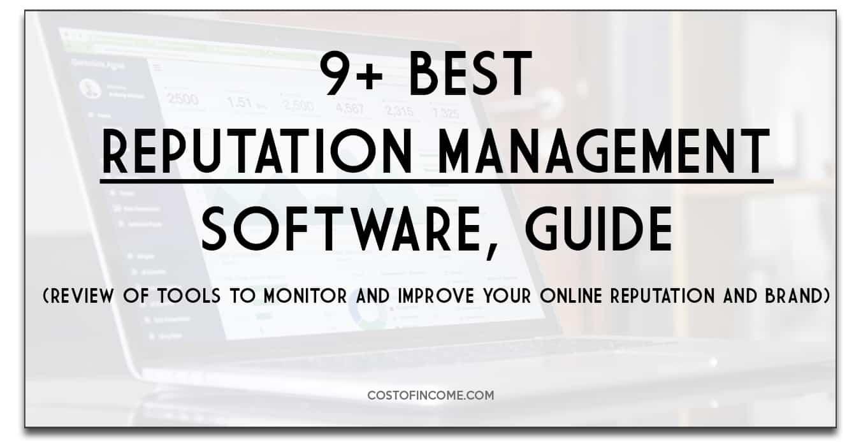 best reputation management software