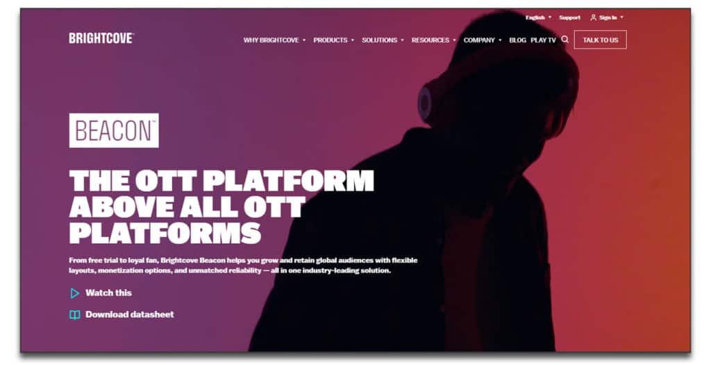 brightcove OTT Platform
