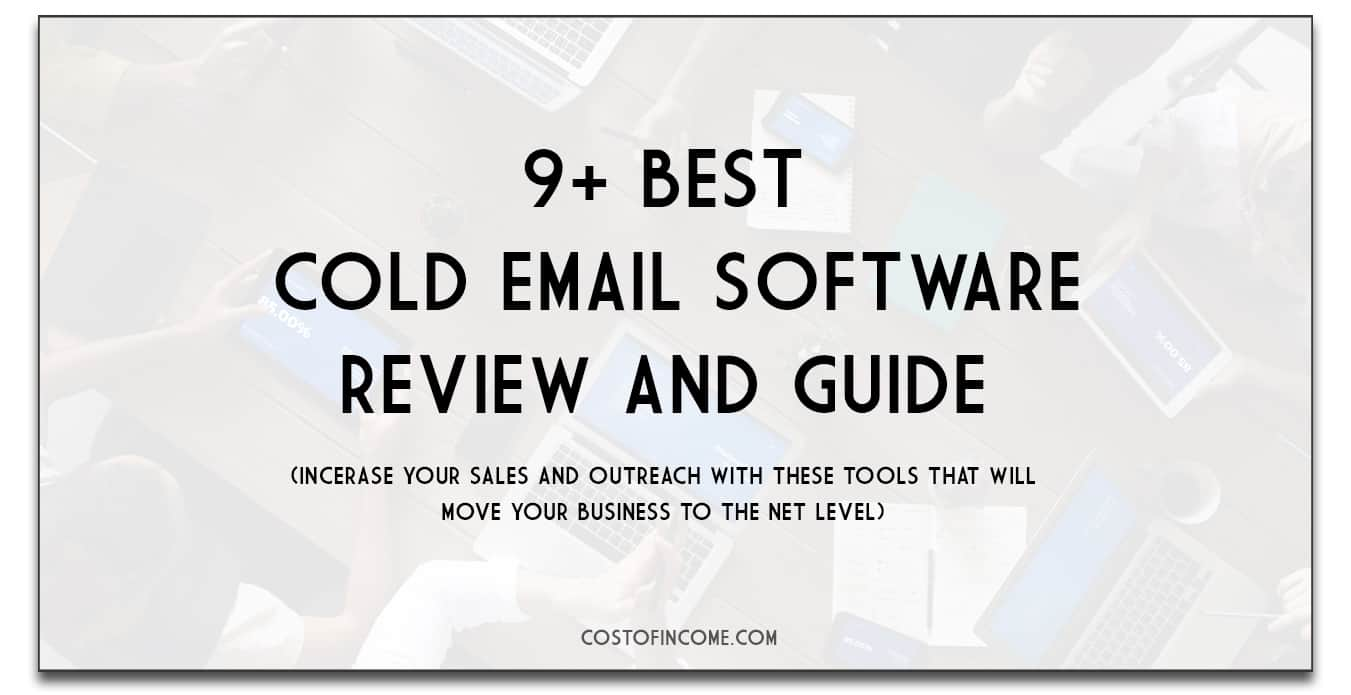 cold email software main