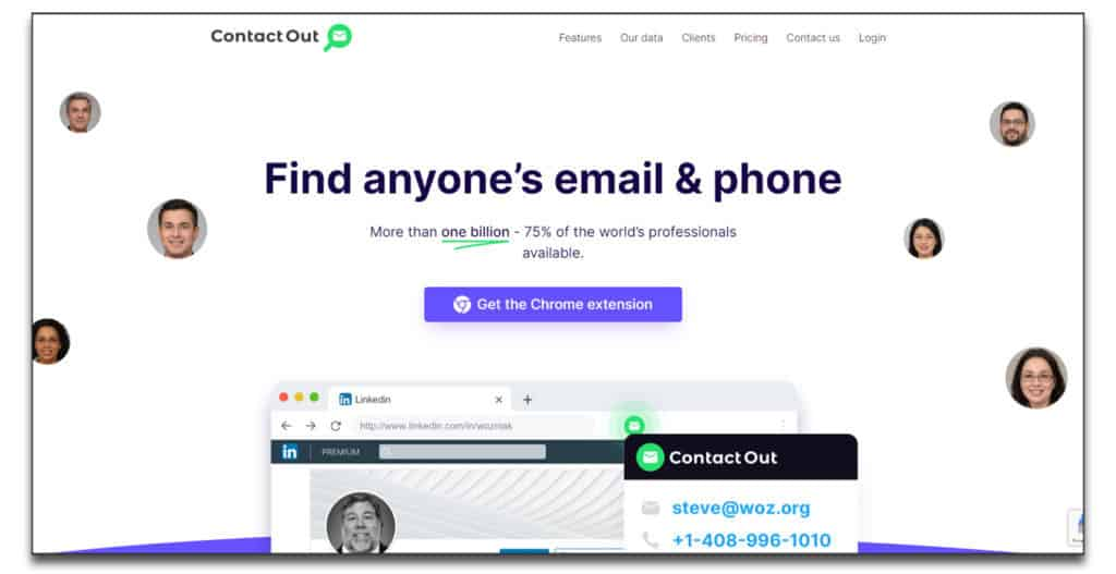 contactout email lookup tool review