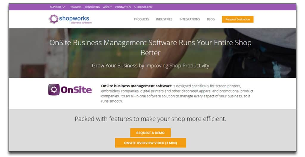OnSite by shopworks review