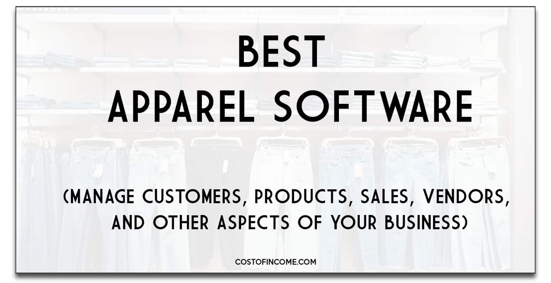 best apparel software