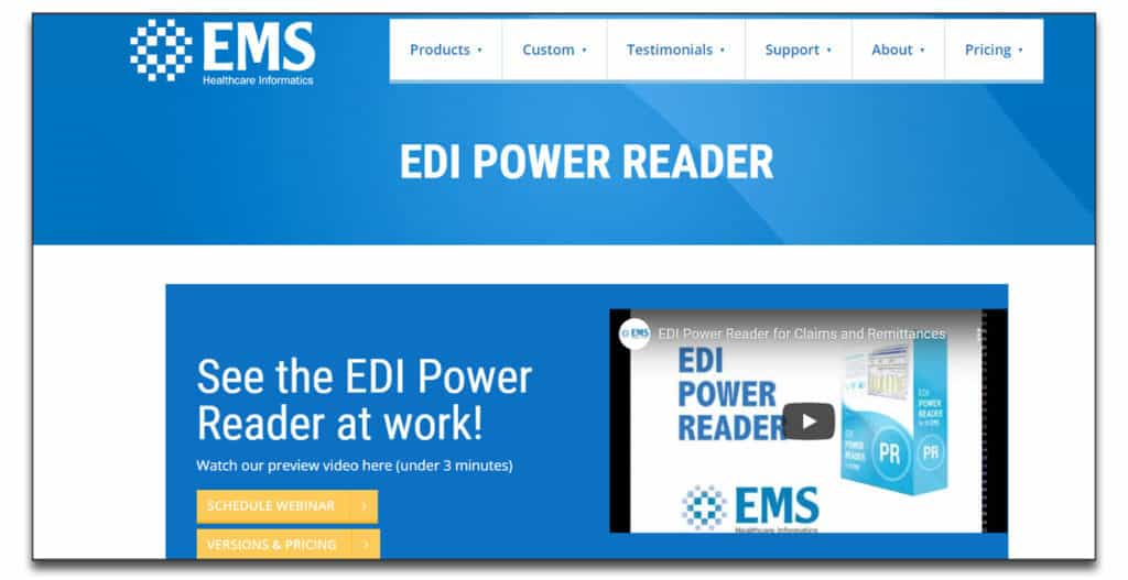 edi power reader