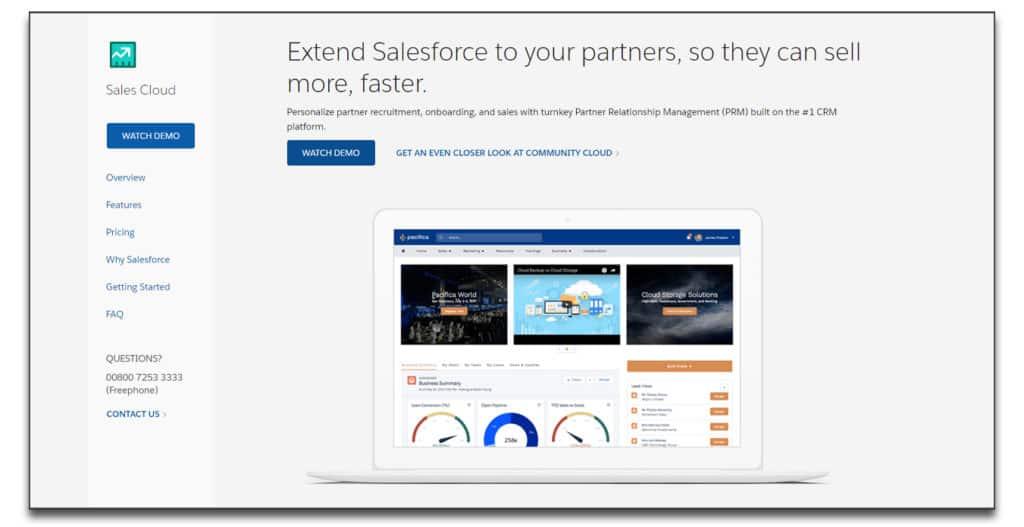 salesforce prm software