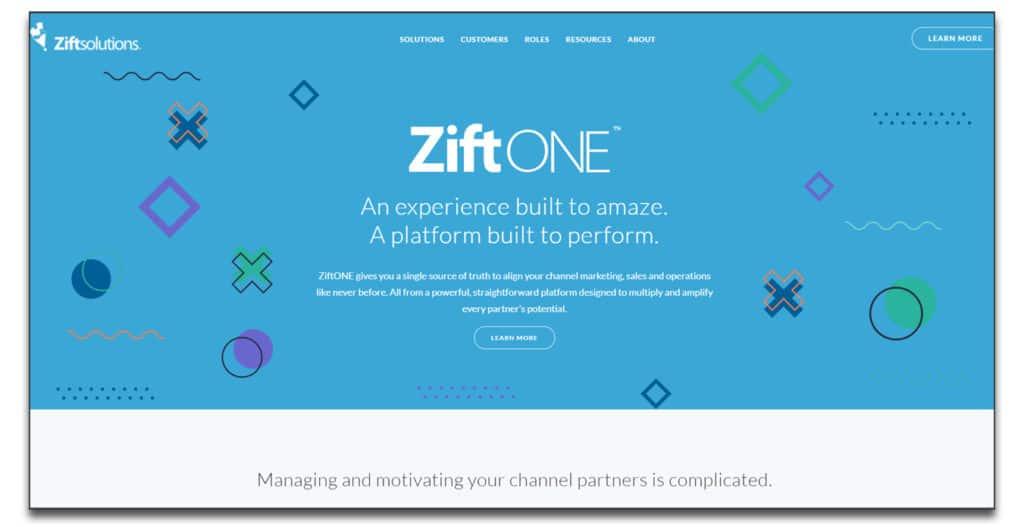 zift one partnership management software