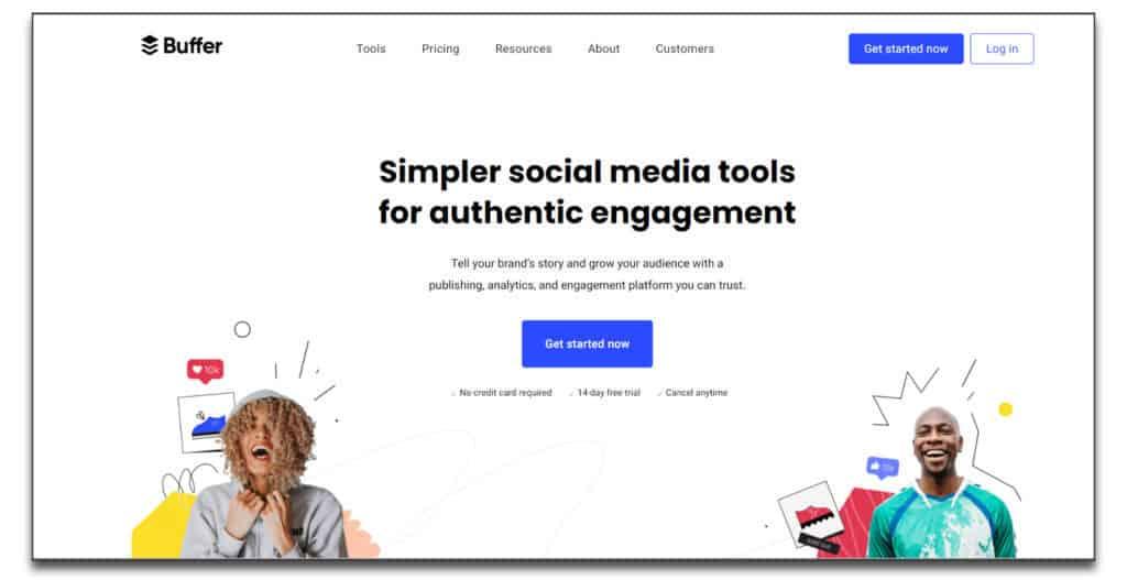 buffer social media management tool review