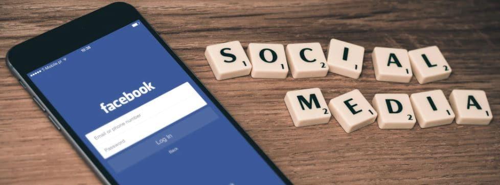 find email address social media