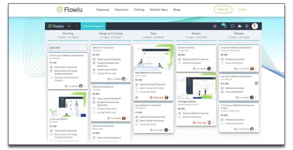 flowlu sales review