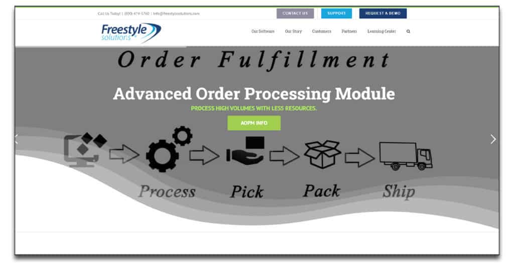 freestyle solutions order management system