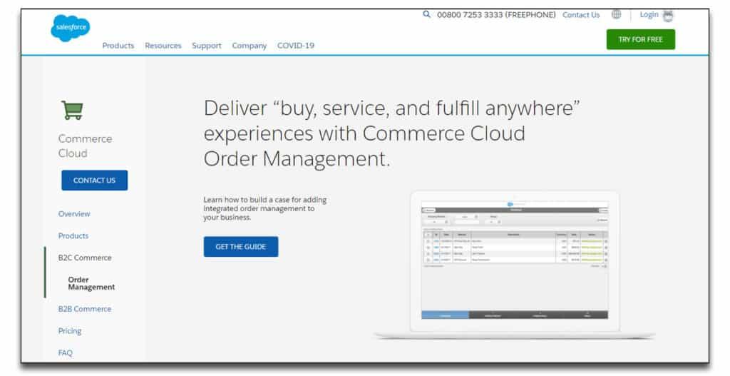 salesforce commerce order management