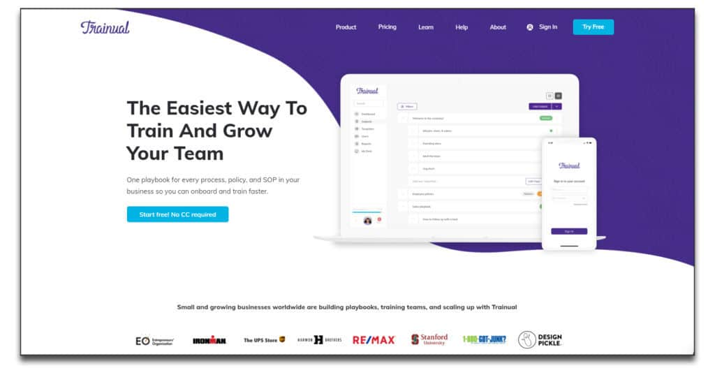 trainual review onboarding software