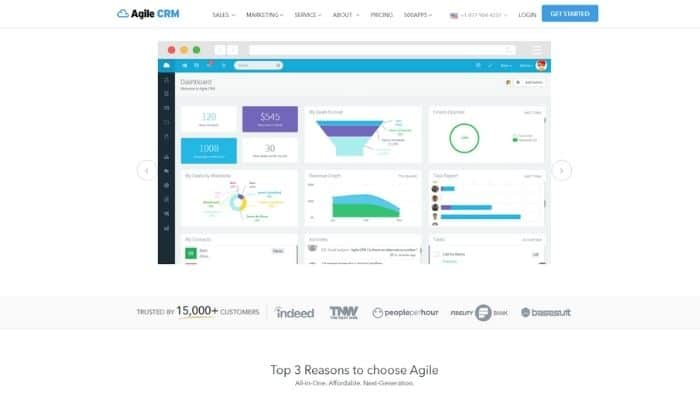 agile crm review