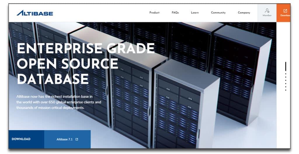 altibase database software