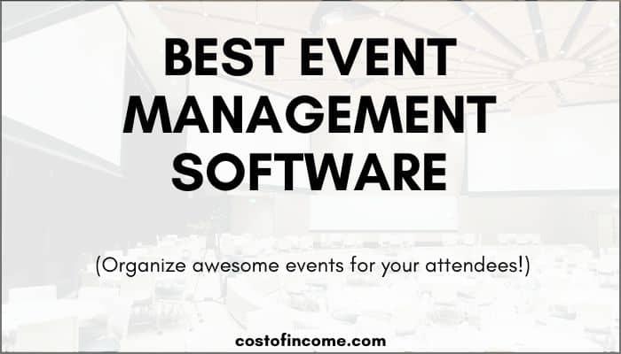 best event management software